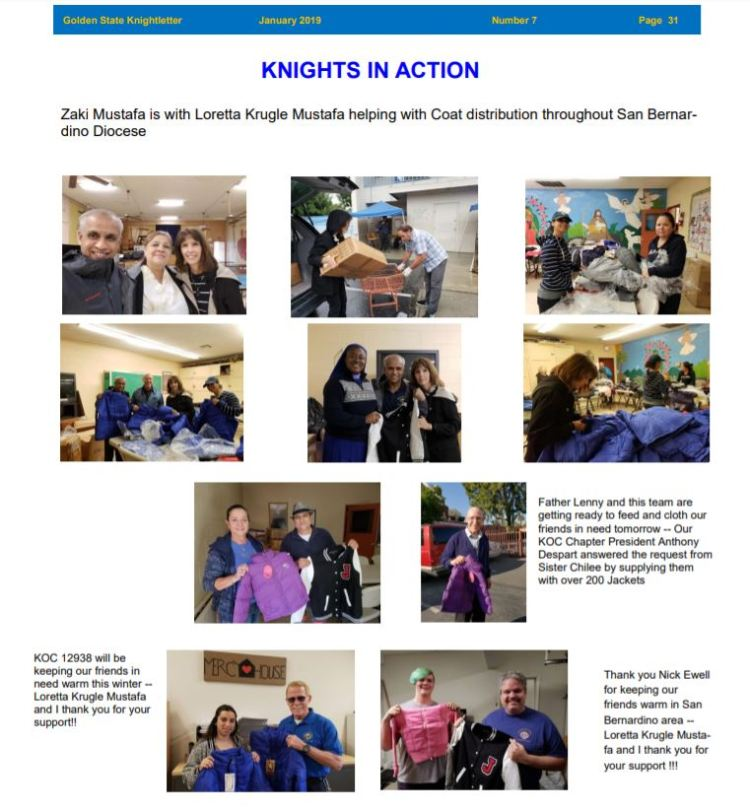 Knights in Action